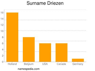 Surname Driezen
