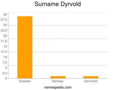 Surname Dyrvold