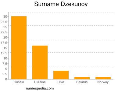 Surname Dzekunov