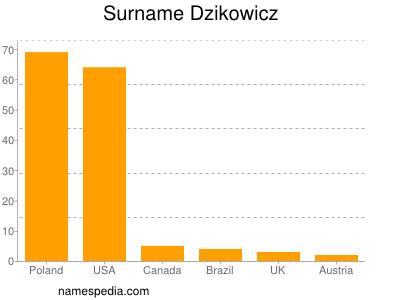Surname Dzikowicz