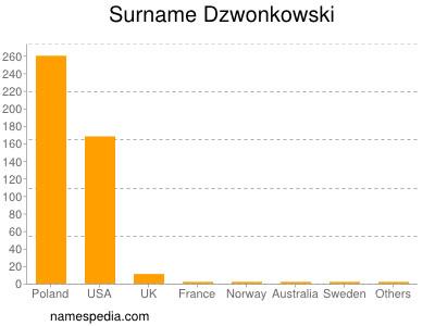 Surname Dzwonkowski