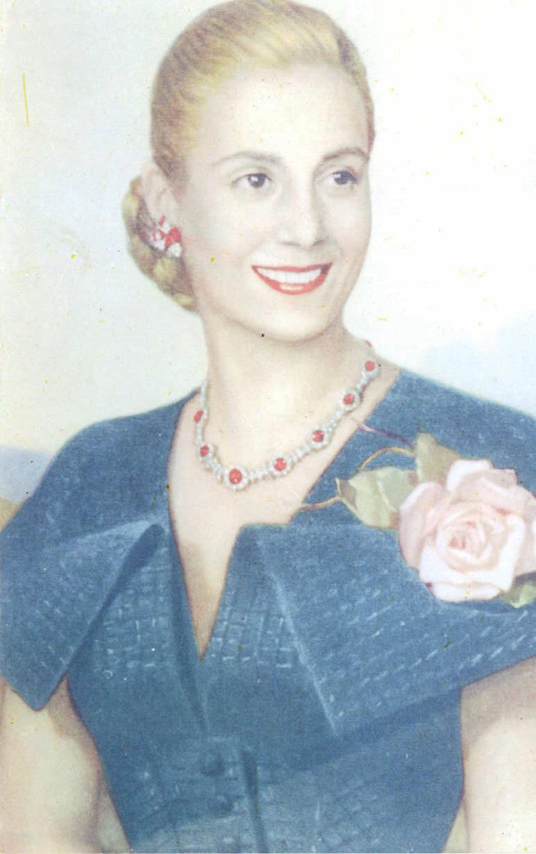 7 мая 95 лет родилась эва перон - актриса и шлюха, которая смогла стать матерью аргентины