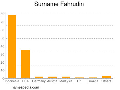 Familiennamen Fahrudin