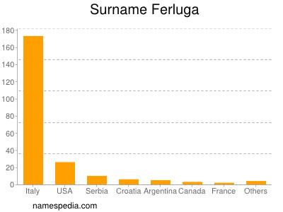 Surname Ferluga