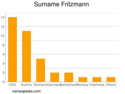 Surname Fritzmann