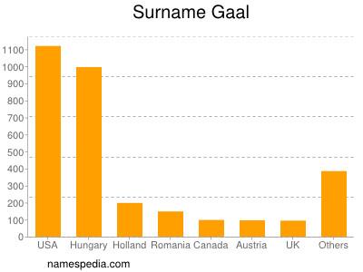 Familiennamen Gaal