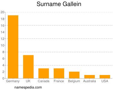 Surname Gallein