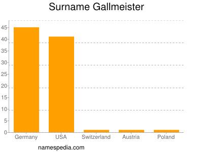 Surname Gallmeister