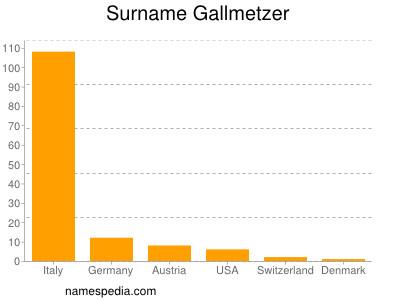 Surname Gallmetzer