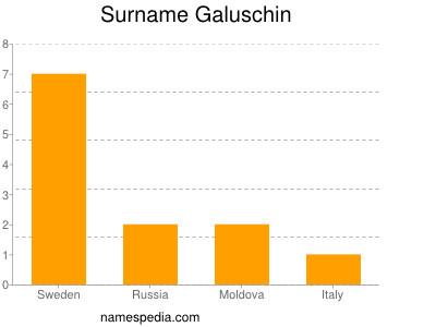Surname Galuschin