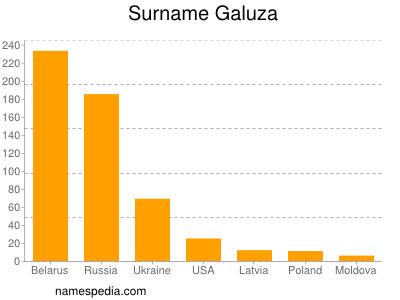 Surname Galuza