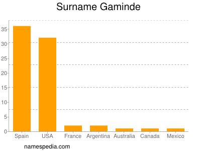 Surname Gaminde
