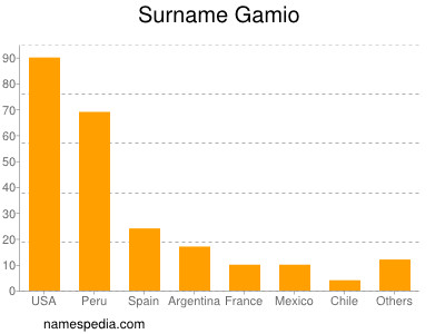 Surname Gamio