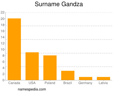 Surname Gandza