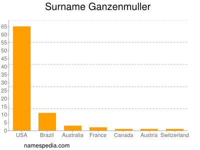 Surname Ganzenmuller