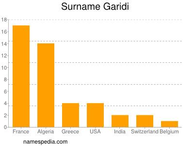 Surname Garidi