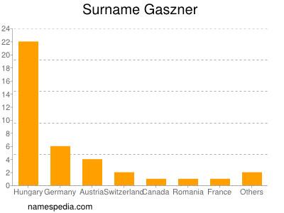 Surname Gaszner