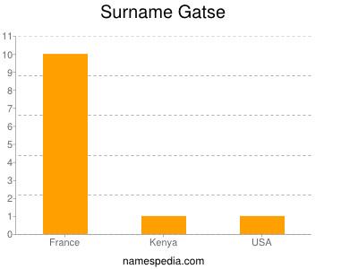 Surname Gatse