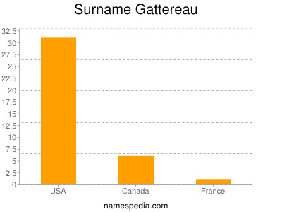 Surname Gattereau