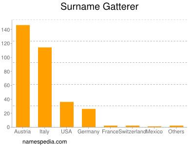 Surname Gatterer