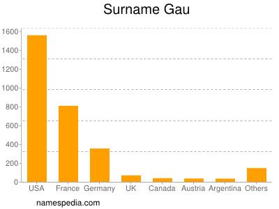 Surname Gau