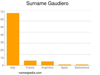 Surname Gaudiero