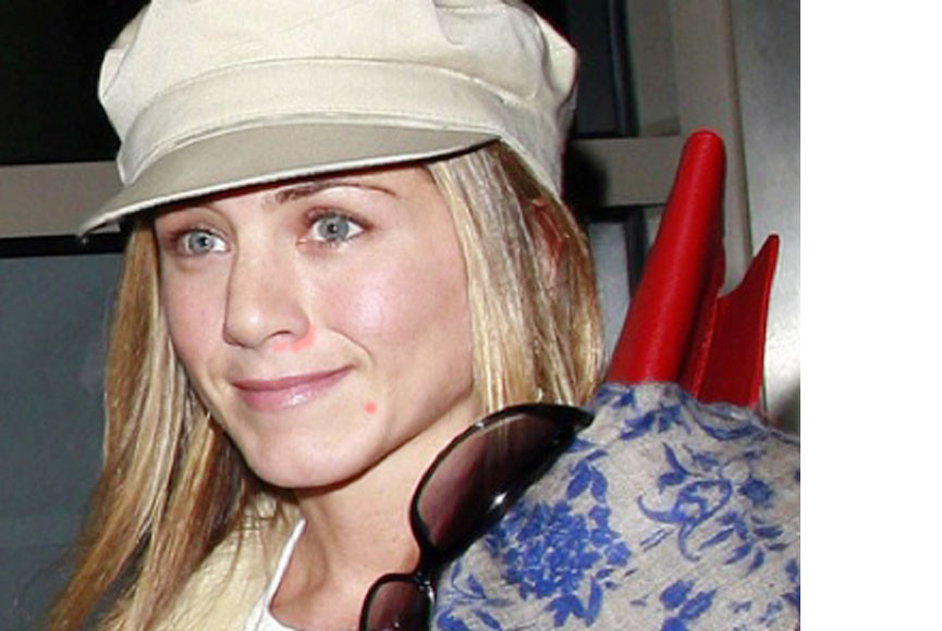 Jennifer aniston no makeup
