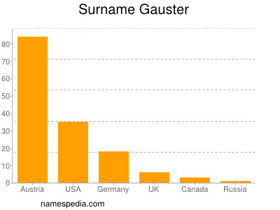 Surname Gauster