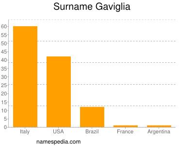 Surname Gaviglia