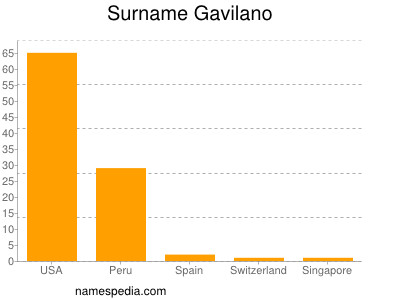 Surname Gavilano