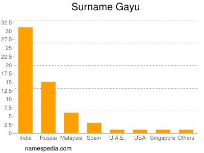 Surname Gayu