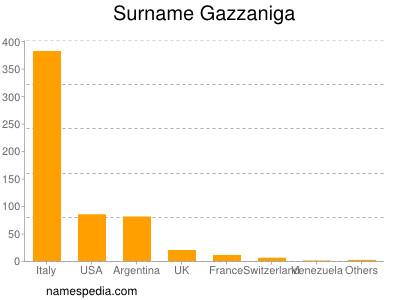 Surname Gazzaniga