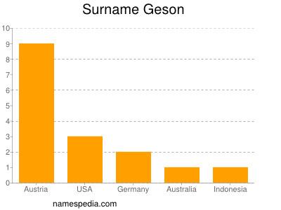 Familiennamen Geson