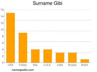 Familiennamen Gibi