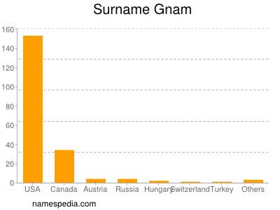 Surname Gnam