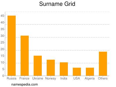 Surname Grid