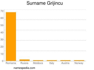 Surname Grijincu