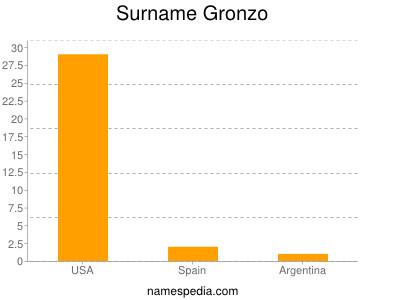 Surname Gronzo