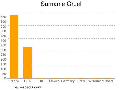 Surname Gruel