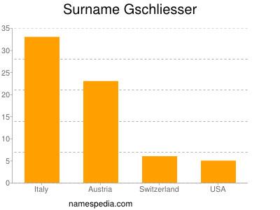 Surname Gschliesser