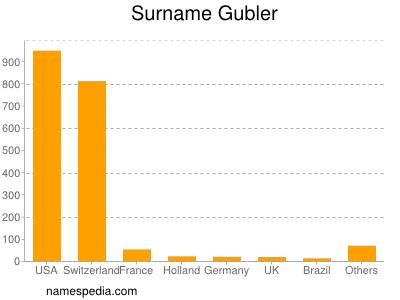 Surname Gubler