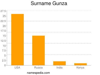 Surname Gunza