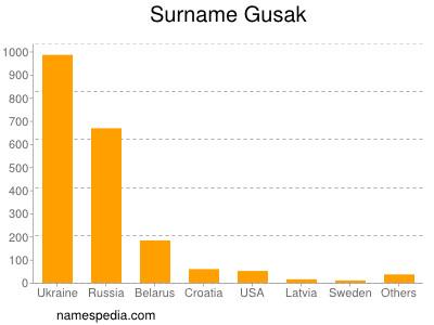 Surname Gusak