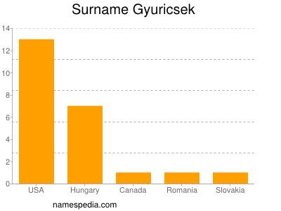 Surname Gyuricsek