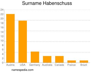 Surname Habenschuss