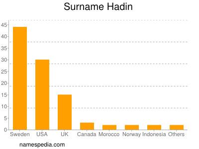 Familiennamen Hadin