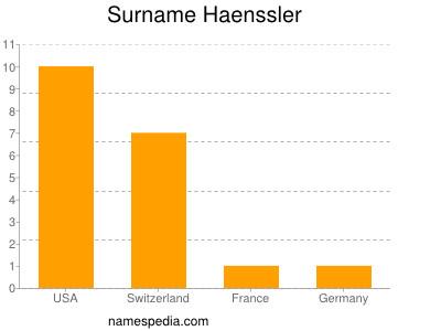 Surname Haenssler