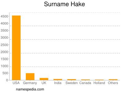 Surname Hake