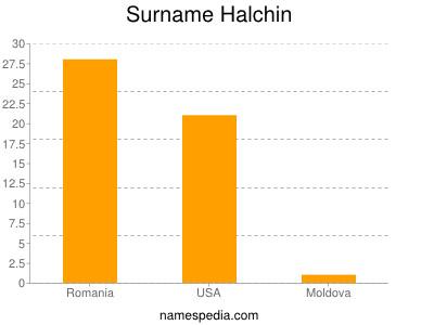 Surname Halchin