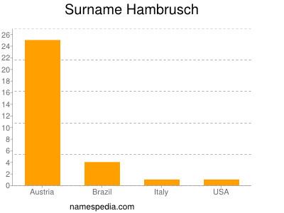 Familiennamen Hambrusch